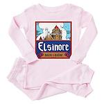 Elsinore Beer Toddler Pink Pajamas
