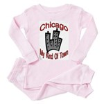 Chicago: My Kind Of Town Toddler Pink Pajamas