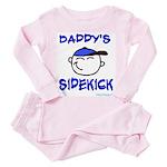 daddys sidekick Toddler Pink Pajamas