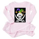 Mardi Gras Toddler Pink Pajamas
