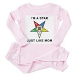 OES Just Like Mom Toddler Pink Pajamas