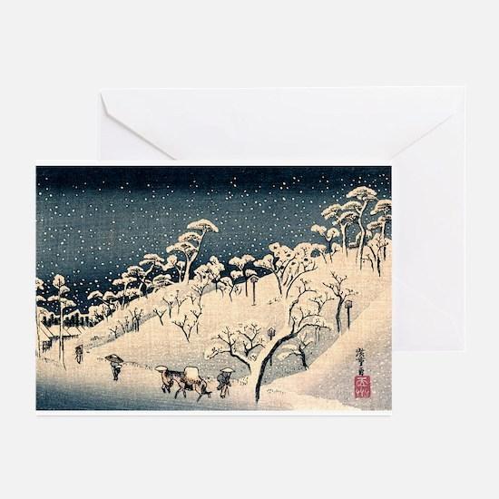 Funny Woodblock print Greeting Cards (Pk of 20)