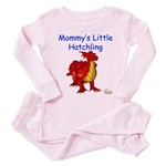 Mommy's Little Hatchling Toddler Pink Pajamas