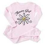 Flower Girl Toddler Pink Pajamas