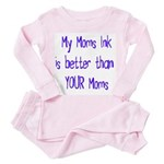 My moms ink is better toddler tee shirt