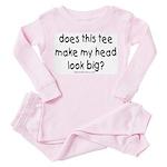 big head Toddler Pink Pajamas