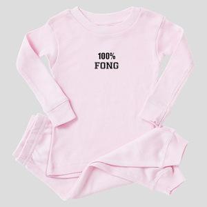 100% FONG Pink Pajamas