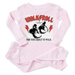 For Toes About To Walk Toddler Pink Pajamas