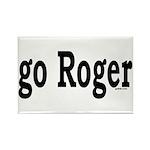 go Roger Rectangle Magnet (10 pack)
