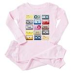 Designer Mixtape Toddler Pink Pajamas