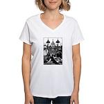 Snow Queen Women's V-Neck T-Shirt