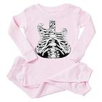 Skelatar Toddler Pink Pajamas