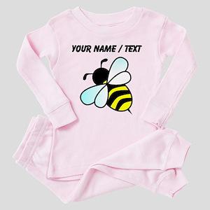 Custom Bumble Bee Pink Pajamas