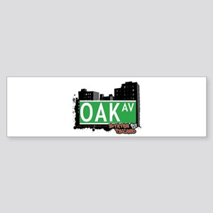 OAK AVENUE, STATEN ISLAND, NYC Bumper Sticker