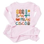 San Francisco Pink Pajamas