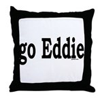 go Eddie Throw Pillow