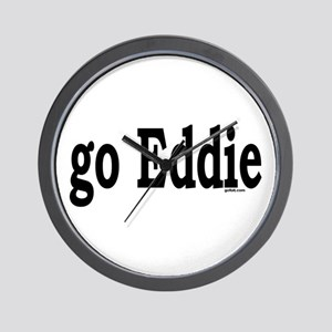 go Eddie Wall Clock