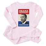 Obama JFK '60-Style Toddler Pink Pajamas