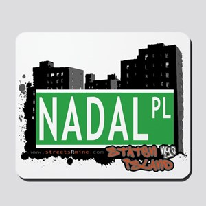 NADAL PLACE, STATEN ISLAND, NYC Mousepad