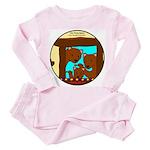 Baby Bear Infant And Toddler Pink Pajamas
