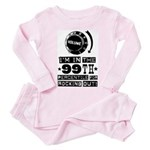 99th Percentile for Rocking Out! Baby Pink Pajamas