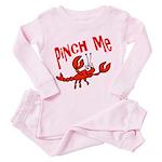 Pinch Me Toddler Pink Pajamas