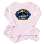 Burbank Police Toddler Pink Pajamas