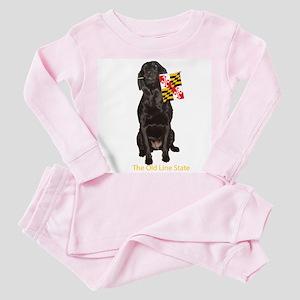 maryland Toddler Pink Pajamas