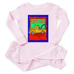 Repo Man Toddler Pink Pajamas