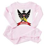 Boxing Toddler Pink Pajamas
