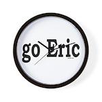 go Eric Wall Clock