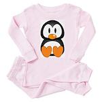 Cute Penguin Toddler Pink Pajamas