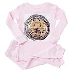 Roman-era Goblet Toddler Pink Pajamas