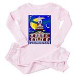 Love Pennsylvania Toddler Pink Pajamas