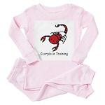 Scorpio in Training (Toddler Pink Pajamas)