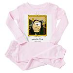 Moona Lisa Toddler Pink Pajamas