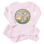 Miracles Happen Toddler Pink Pajamas