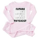 Future physicist Toddler Pink Pajamas