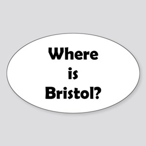 Where is Bristol Oval Sticker