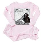 1929 Broadway Limited Toddler Pink Pajamas
