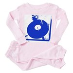 turntable blue Pink Pajamas