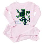 Lamont Lion Toddler Pink Pajamas
