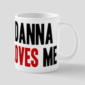 Danna loves me Mug