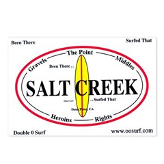Salt Creek Surf Spots Postcards (Package of 8)