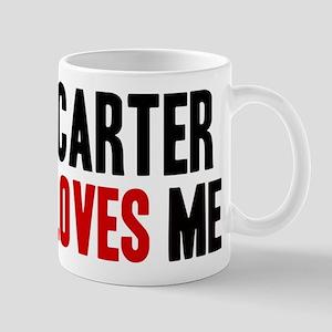 Carter loves me Mug