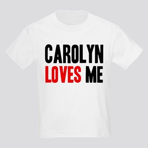Carolyn loves me Kids Light T-Shirt