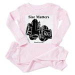 Size Matters - Toddler Pink Pajamas by BoostGear