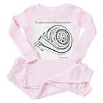 Displacement Replacement - Toddler Pink Pajamas