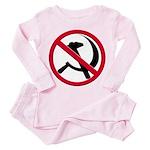 Anti-Communism Toddler Pink Pajamas