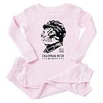 Chairman Meow - Baby/Toddler Cat Pink Pajamas